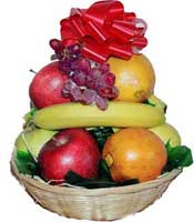 "10"" Round Fruit Basket"