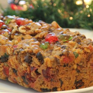 2 lb Large Fruitcake
