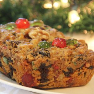 1 lb medium Fruitcake