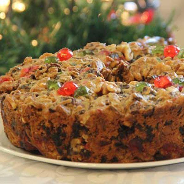 4 lb Round Fruitcake