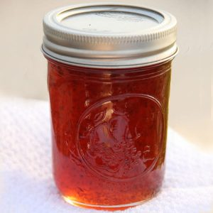 1/2 Pint Jar of Hot Pepper Jam