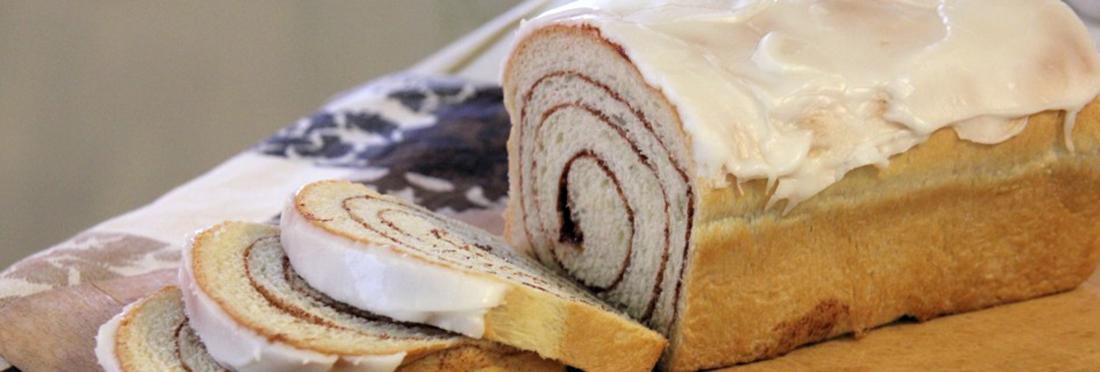 Iced Cinnamon Bread