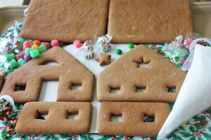 Complete Large Gingerbread House Kit