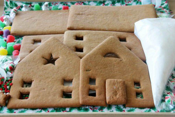 Christmas Gingerbread House Kit.Complete Gingerbread House Kit Xl