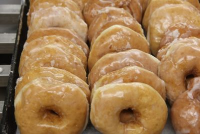 Fresh Glazed Donuts