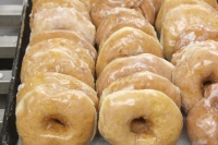 Tray of Homemade Donuts