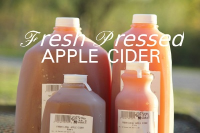 Fresh Pressed Apple Cider