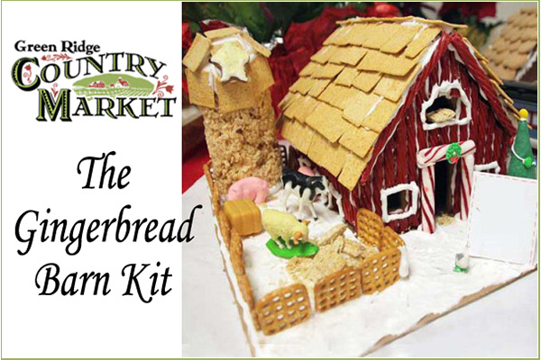 Gingerbread Barn Kit