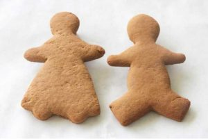 "5"" Gingerbread Boy and Girl"